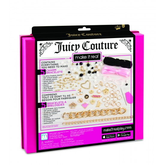 Make it Real - Juicy Couture Gold Chains & Charms (4404)