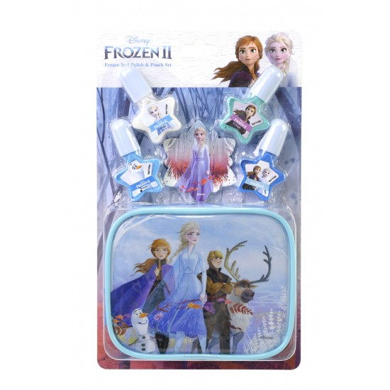 Markwins Disney Princess - Frozen Nail Polish & Pouch Set (1599006E)