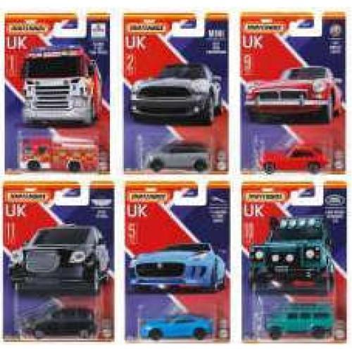 Mattel Matchbox  Αυτοκινητάκια Αγγλικά Μοντέλα (GWL22)