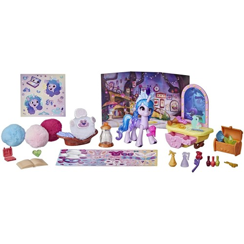 Hasbro My Little Pony A New Generation Film Story Scenes Critter Creation Izzy Moonbow (F29355X0)