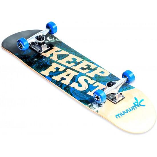 Muuwmi Skateboard Abec 5 with Backpack (561)
