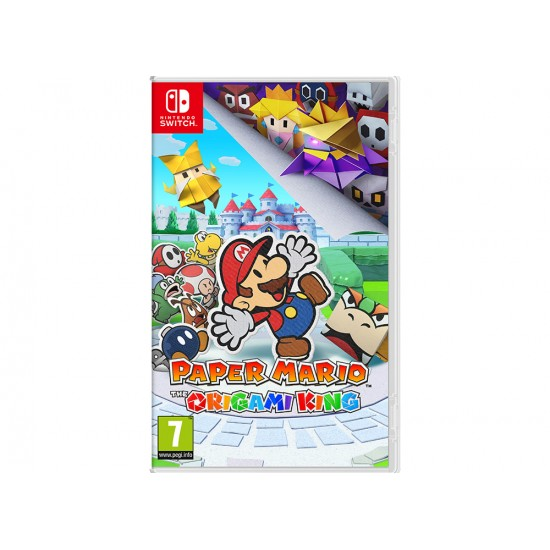 Paper Mario The Origami King - Nintendo Switch Game