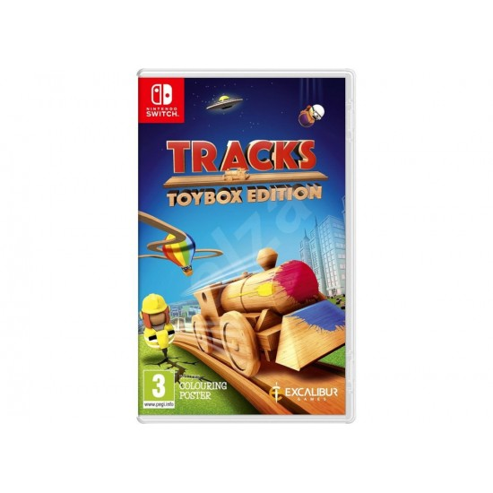 Nintendo Switch Game - Tracks Toolbox Edition