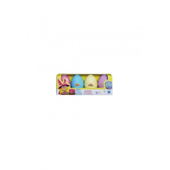 Hasbro Play-Doh Sweet Without Sugar Spring Eggs 4-Pack (42573)