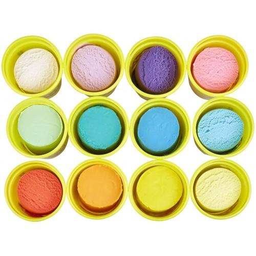 Hasbro Play-Doh 12er Spring Colors (E4831)