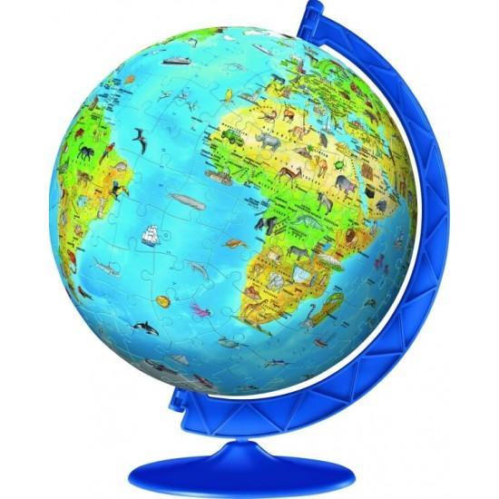 Ravensburger 3D Puzzle  Children's globe in german (11160)