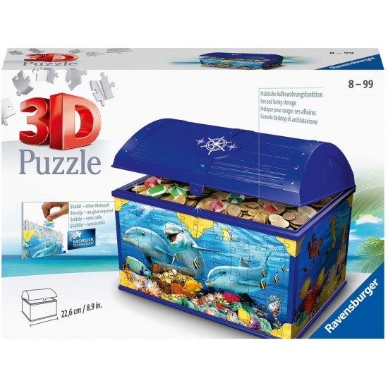 Ravensburger 3D Puzzle Treasure Chest Underwater (11174)