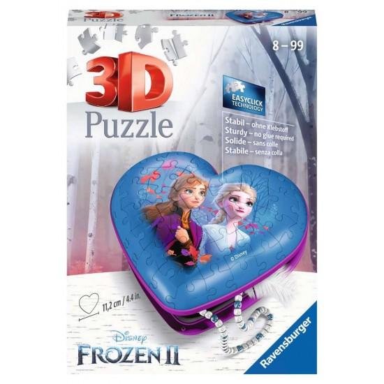Ravensburger 3D Puzzle Heart Box - Frozen 2 (11236)