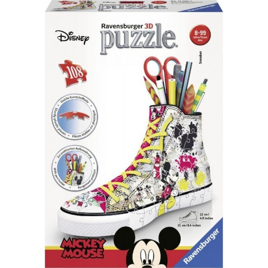 Ravensburger Sneaker Disney Mickey Mouse 3D 108pcs (12055)
