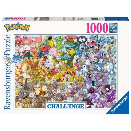 Ravensburger Challenge Puzzle - Pokemon  (15166)