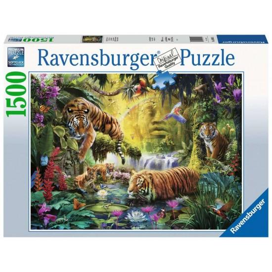 Ravensburger Puzzle Idylle am Wasserloch (16005)