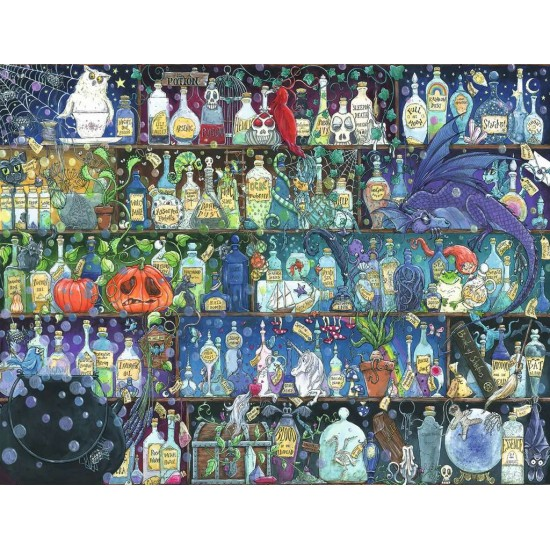 Ravensburger Puzzle The Poison Cabinet (16010)