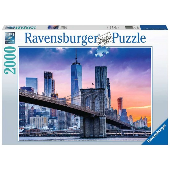 Ravensburger Puzzle From Brooklyn to Manhatten (16011)