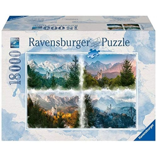 Ravensburger puzzle fairytale castle in 4 years (16137)