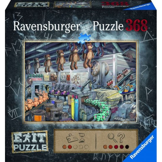 Ravensburger Puzzle EXIT In d. Toy factory  (16484)