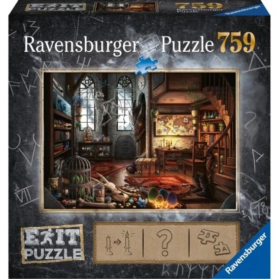 Ravensburger Puzzle EXIT To εργαστήριο του δράκου (19954)