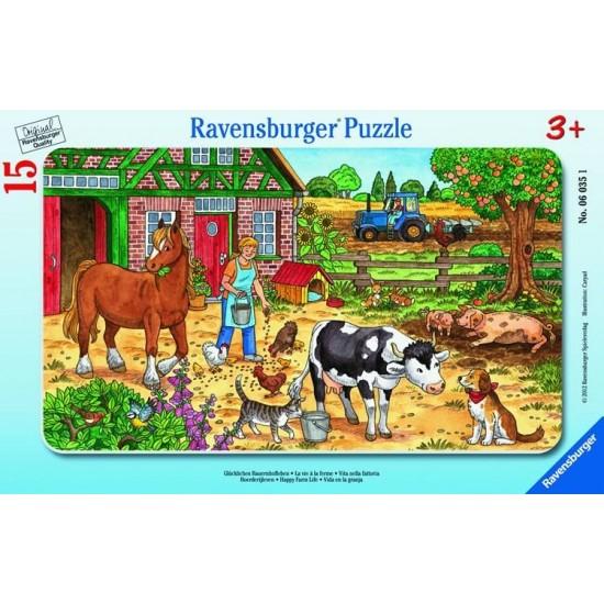 Ravensburger  Puzzle  Happy Farm Life (60351)