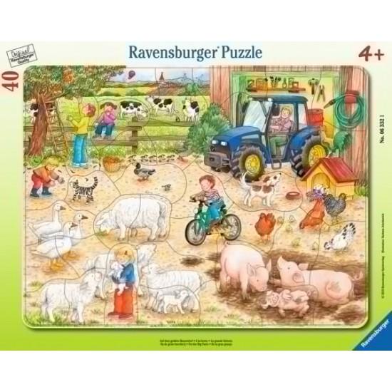 Ravensburger  Puzzle on the big farm (63321)