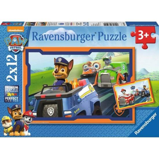 Ravensburger  Puzzle Paw Patrol σε δράση (75911)