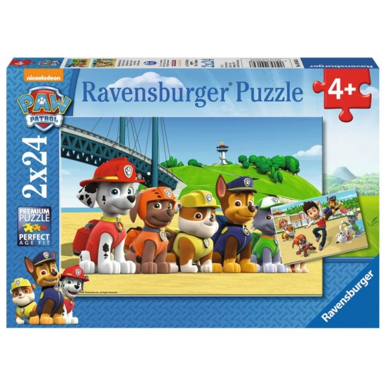 Ravensburger Puzzle Paw Patrol Heroic Dogs (90648)