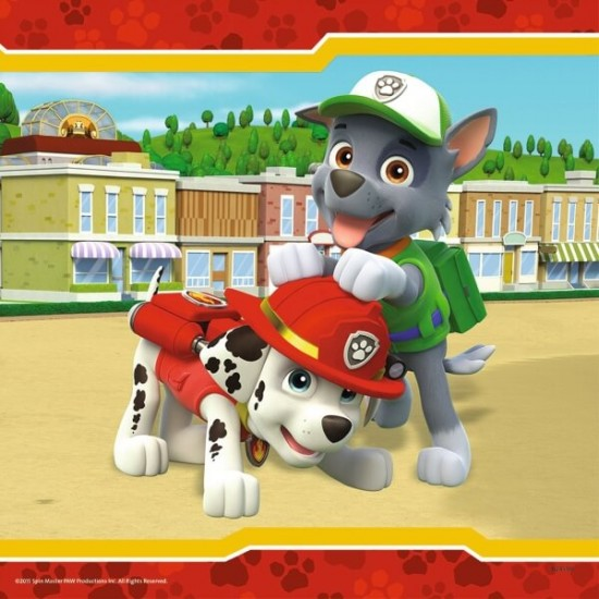 Ravensburger  Puzzle Paw Patrol Hold with Fell  3x49 (93694)