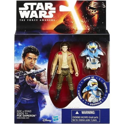 Hasbro Star Wars The Force Awakens Space Mission Poe Dameron Figure (B3893)