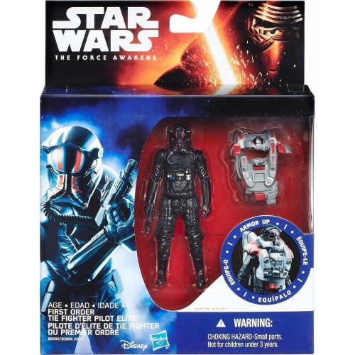 Hasbro Star Wars Space Mission Armor First Order TIE Fighter Pilot (B6590)