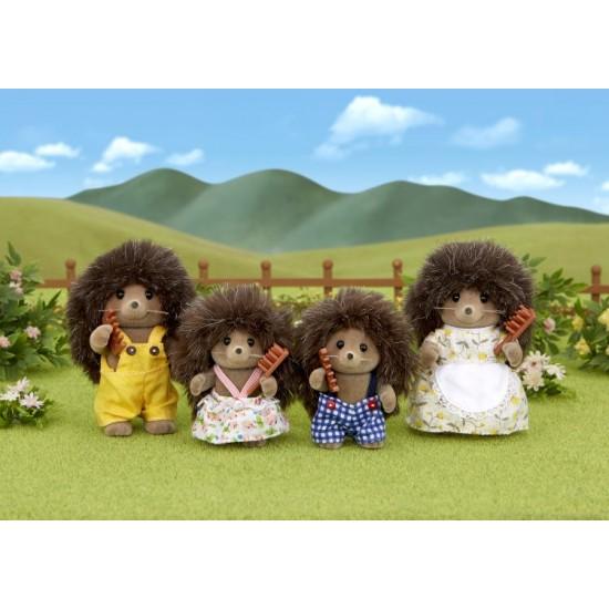 Sylvanian Families Hedgehog Οικογένεια (4018)