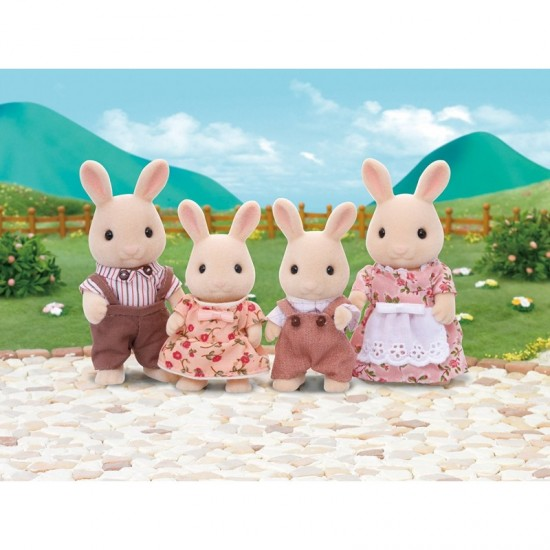 Sylvanian Families Οικογένεια Milk Rabbit (4108)