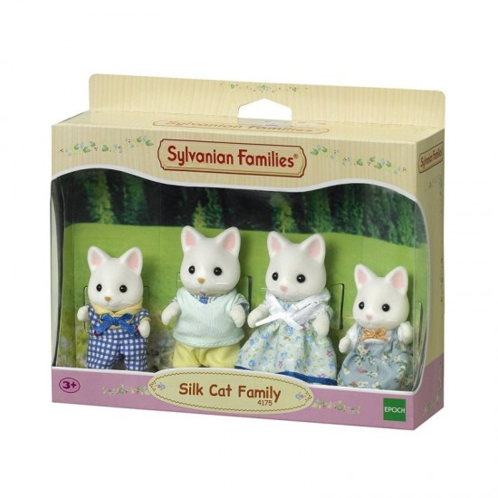 Sylvanian Families Οικογένεια Silk Cat (4175)