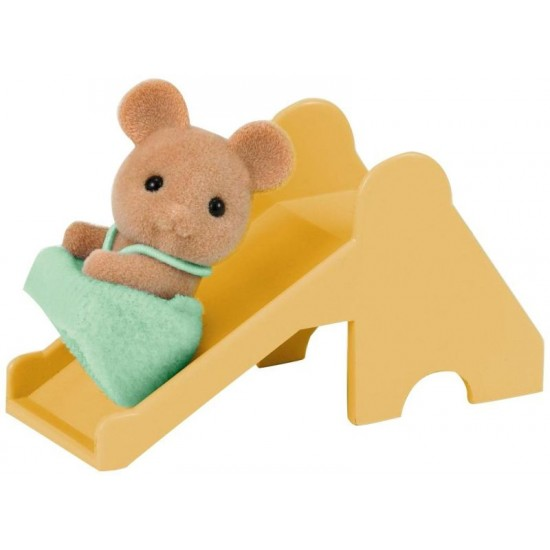 Sylvanian Families Mouse Μωρό & Τσουλήθρα (4562)