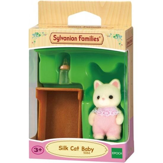 Sylvanian Families Silk Cat Μωρό (5066)