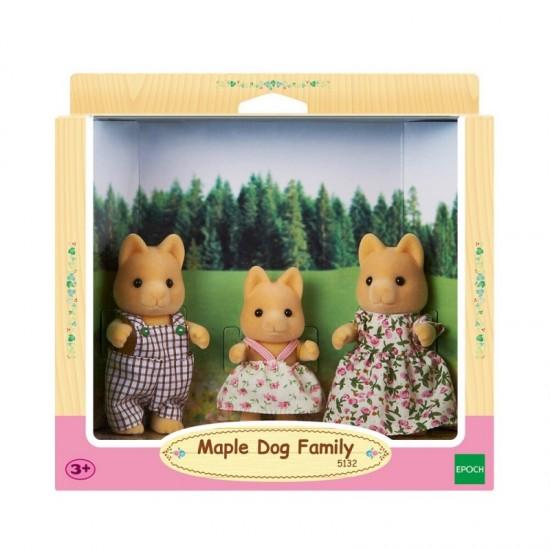 Sylvanian Families Οικογένεια Maple Dog (5132)