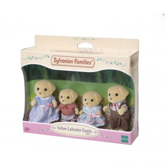Sylvanian Families Οικογένεια Yellow Labrador (5182)