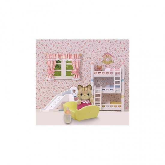 Sylvanian Families Striped Cat Baby (5186)