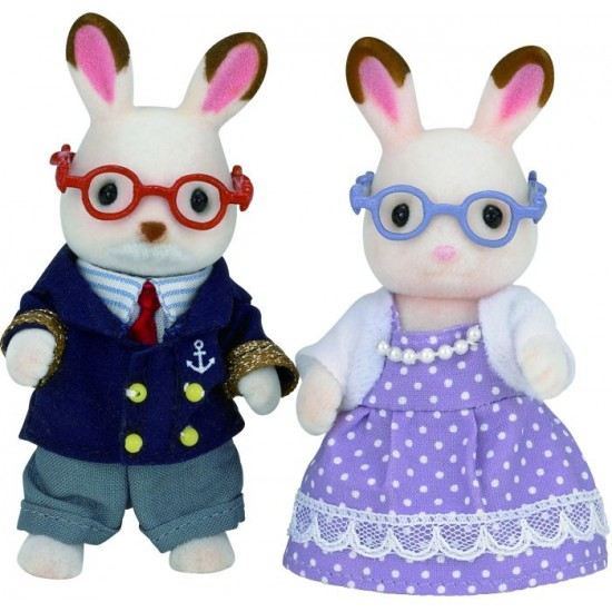 Sylvanian Families Chocolate Rabbit Παππούς και Γιαγιά (5190)