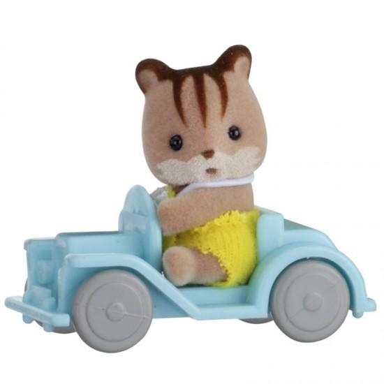 Sylvanian Families Squirrel Μωρό & Αυτοκινητάκι (5203)