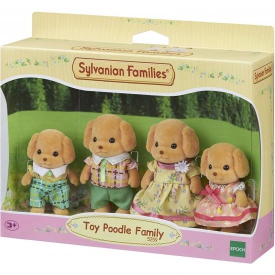 Sylvanian Families Οικογένεια Toy Poodle (5259)