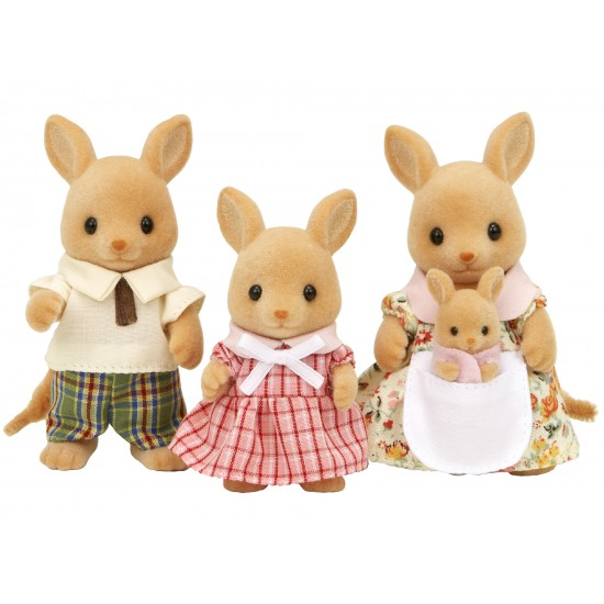 Sylvanian Families Οικογένεια Kangaroo (5272)
