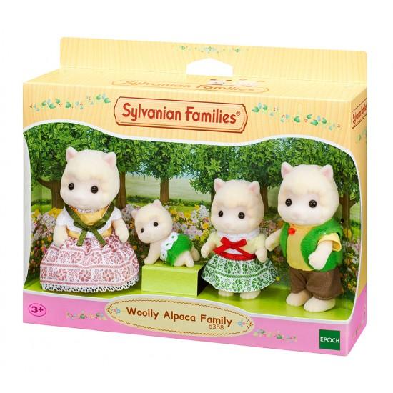 Sylvanian Families Οικογένεια Woolly Alpaca (5358)