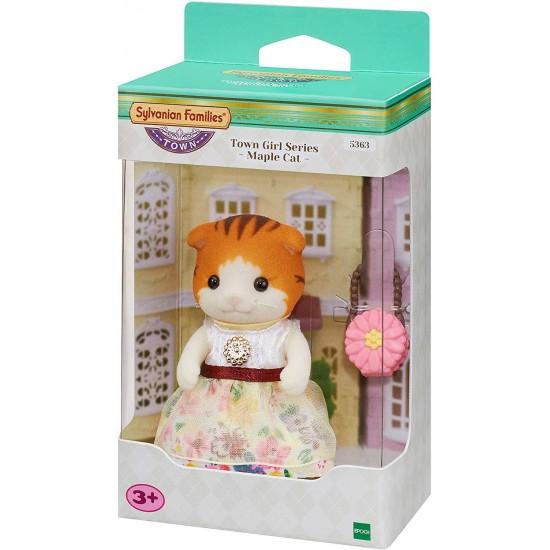 Sylvanian Families Town Girl Series Maple Cat (5363)