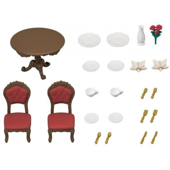 Sylvanian Families Chic Dining Table Set (5368)