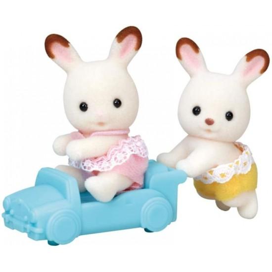 Sylvanian Families Δίδυμα Μωρά Chocolate Rabbit Twins (5420)