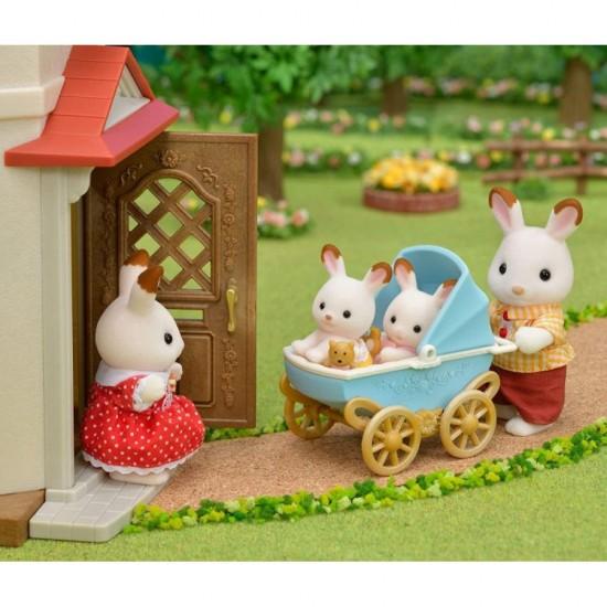Sylvanian Families Chocolate Rabbit Twins Set (5432)