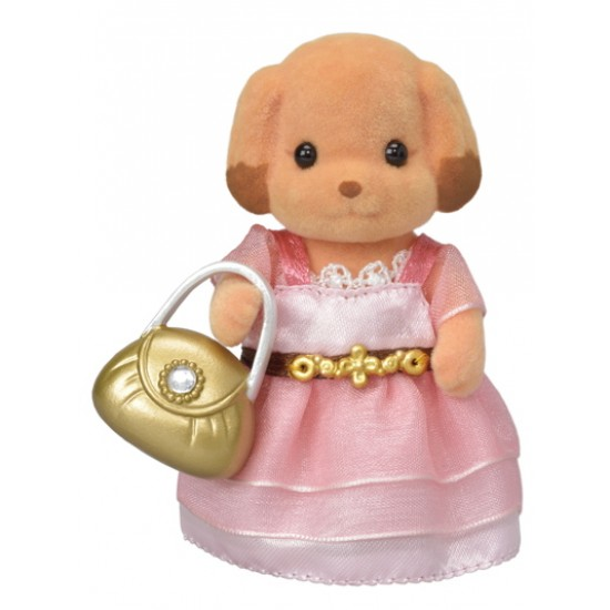 Sylvanian Families Town Series  Town Girl Series  Toy Poodle (6004)