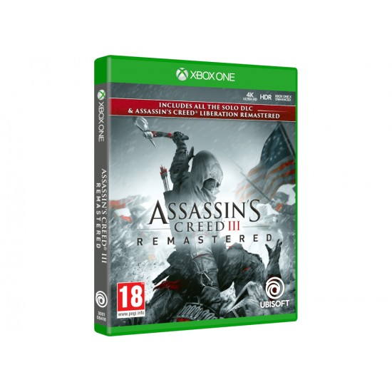 Assassin's Creed III Remastered - Xbox One Game