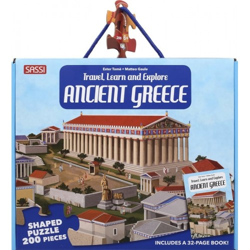 TRAVEL, LEARN AND EXPLORE: ANCIENT GREECE (9788830303881)