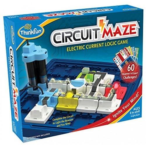 Επιτραπέζιο ThinkFun Παιχνίδι Λογικής Circuit Maze™ (001008)
