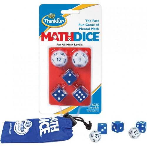 Επιτραπέζιο ThinkFun Γρίφος Math Dice® (001510)
