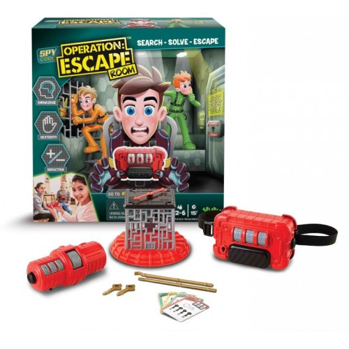 Just toys Επιτραπέζιο Spy Code Operation Escape Room (YL051)